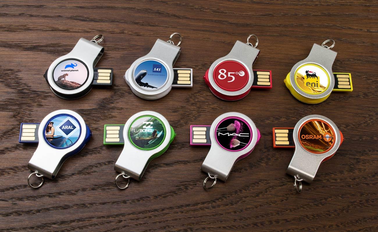 Light - USB Stick Bedrukken