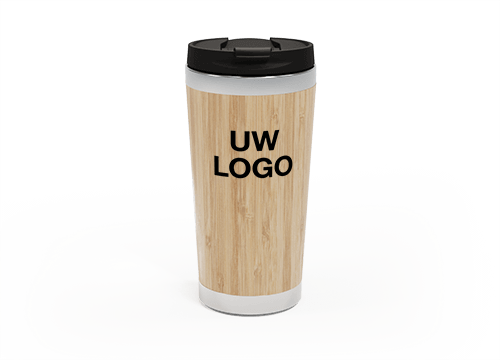 EcoSip - Bamboo Travel Mug Personalized