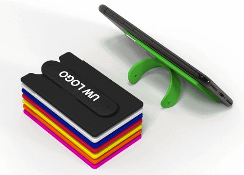 Pass - Bedrukte zelfklevende telefoon wallet