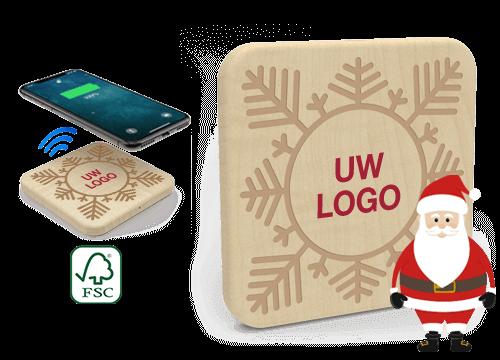 Forest Christmas - Promotionele Draadloze Oplaadmat