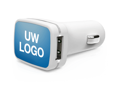 Vista - Gepersonaliseerde USB Auto lader