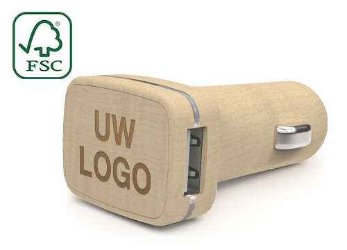 Woodie - Branded Car Chargers
