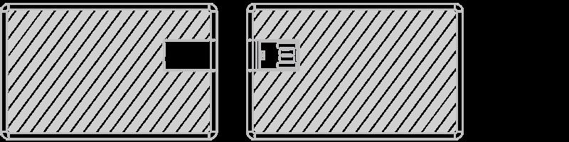 USB kaart Zeefdruk