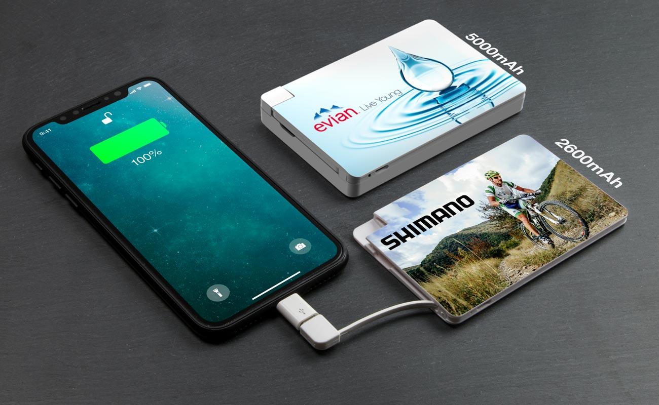 Card - Powerbank Bedrukken