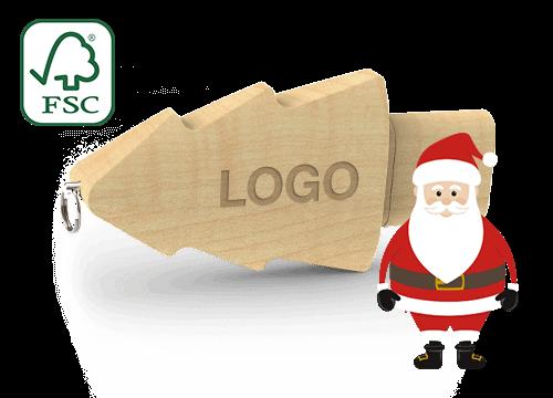 Christmas - Relatiegeschenk USB Stick
