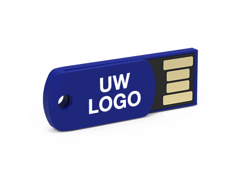 Clip - USB Stick Bedrukt