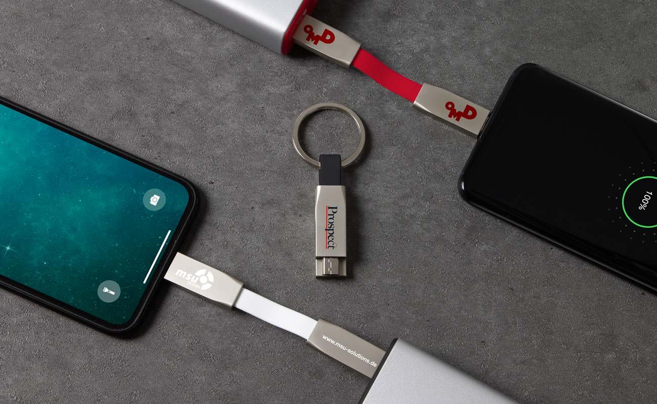 Connex - Bedrukte USB Kabels