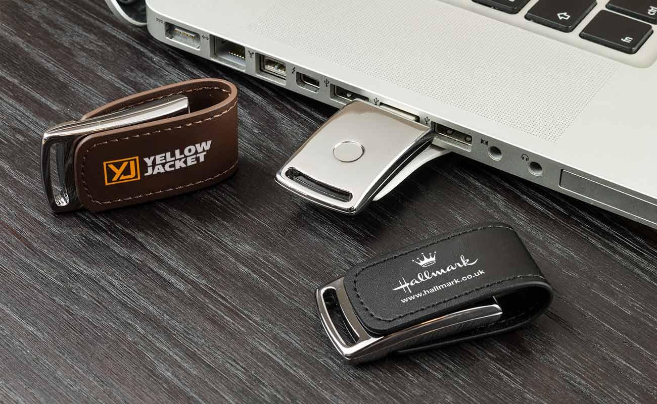 Executive - Lederen USB Sticks