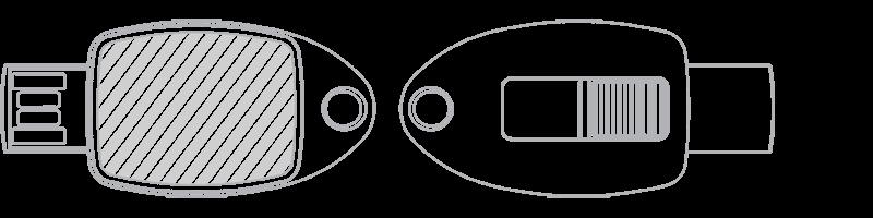 USB stick Fotodruk