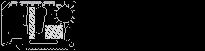 Multi Tool Zeefdruk