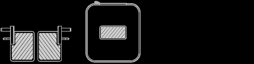 USB Reislader Zeefdruk
