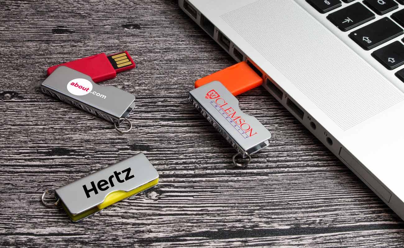 Rotator - USB Stick Bedrukken
