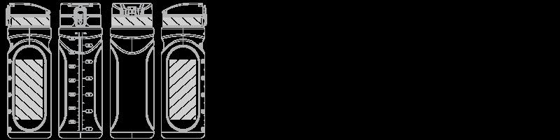 Waterfles Zeefdruk